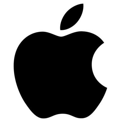Apple Logo - mela nera